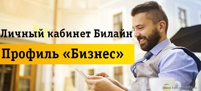 Обзор личного кабинета профиля «Бизнес»