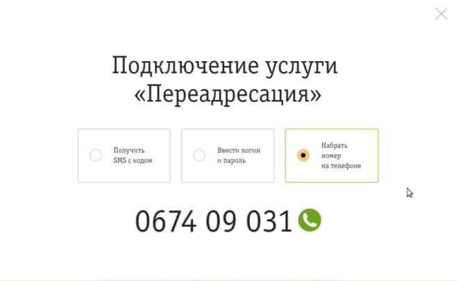 Номер с зеленым значком