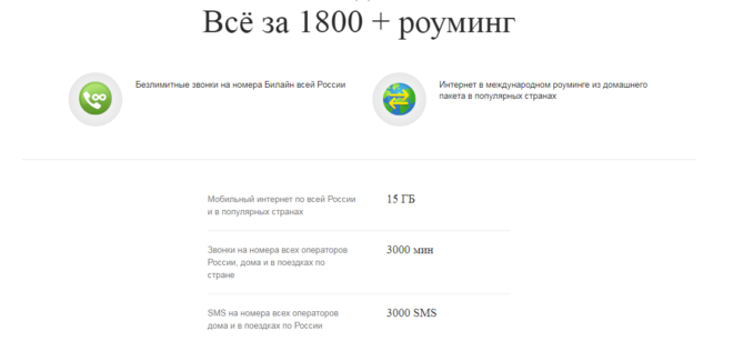 Предложение Все за 1800